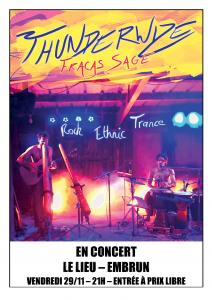 Concert Thunderwize @ Le Lieu