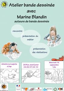 Rencontre dédicace avec Marine Blandin @ Gap