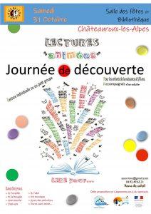 """Journée """"lectures animées """" petite enfance @ Salle des fêtes et bibliothèque"""