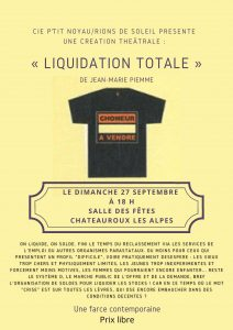 Liquidation Totale @ Salle des fêtes