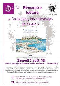 """Rencontre lecture avec Karin Huet """"Calanques, les entrevues de l'aigle"""" @ Châteauroux les Alpes"""