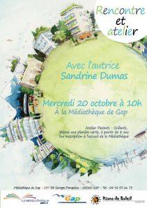 Atelier rencontre avec Sandrine Dumas Roy @ Gap